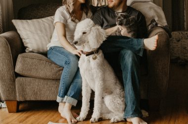 Pies i kot w mieszkaniu