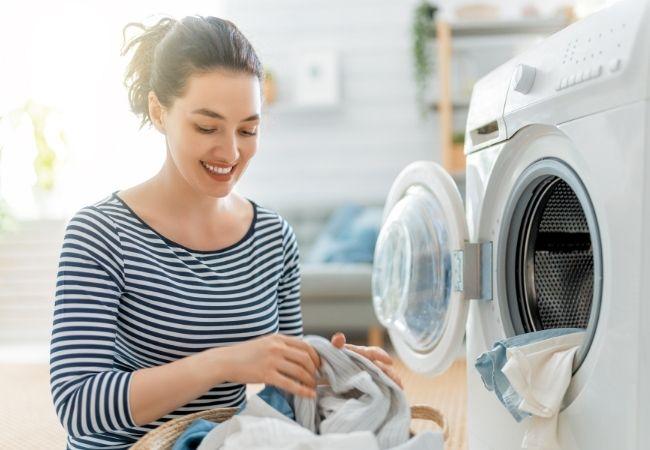 jak prać welur w pralce