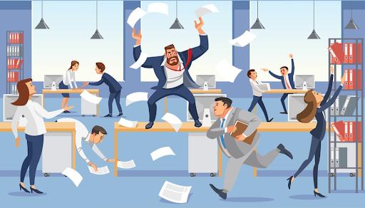 Dezorganizacja w zarządzaniu firmą